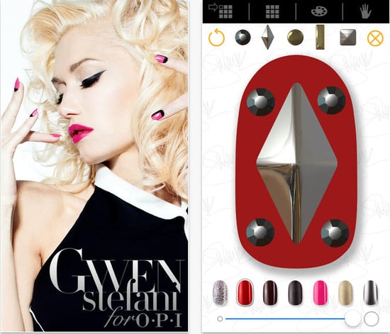 Gwen Stefani and OPI iPhone App