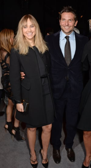 Bradley and Suki smiled together at the Tom Ford show.