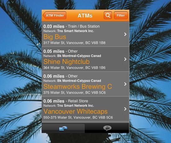 ATM Hunter App