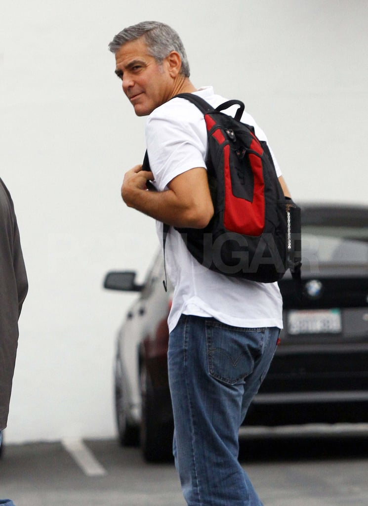 George Clooney out in LA.