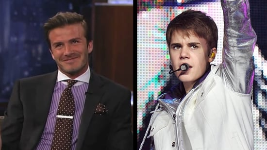 Video: David Beckham Talks Justin Bieber Baby Names on Jimmy Kimmel Live