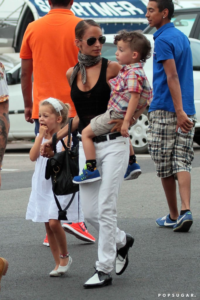 Nicole, Joel, and the Kids Bring the Family Fun to France