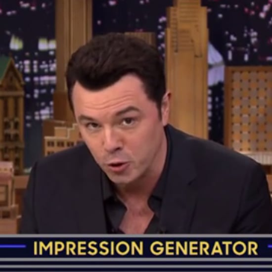 Seth MacFarlane's Celebrity Impressions on The Tonight Show