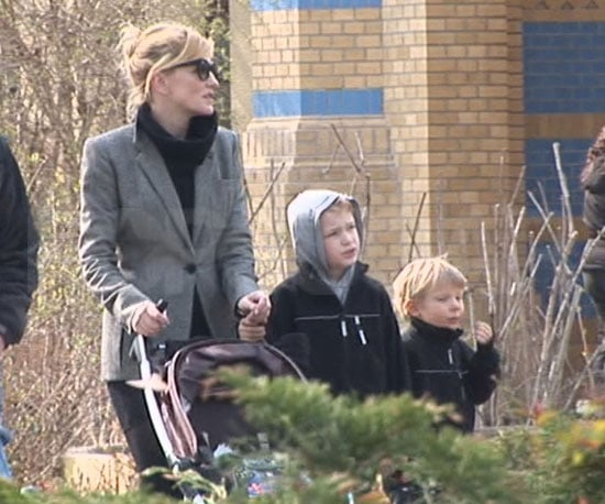 Slide Picture of Cate Blanchett With Kids at Berlin Zoo