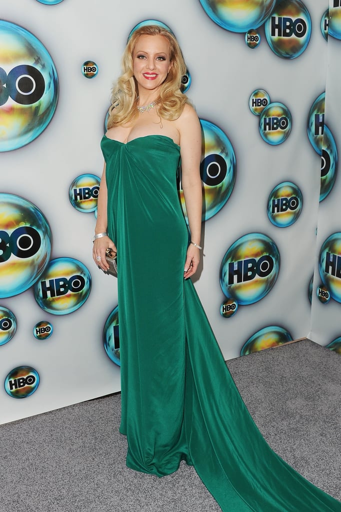 Wendi McLendon-Covey arrived at the HBO Golden Globes party.