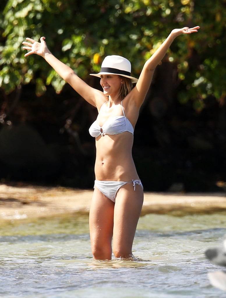 She was in celebration mode while on vacation in the Caribbean in March 2015.