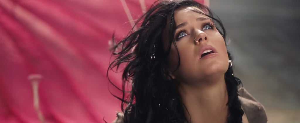 "Katy Perry Fights With a Parachute, Sort of Wins, in the Official Video For ""Rise"""
