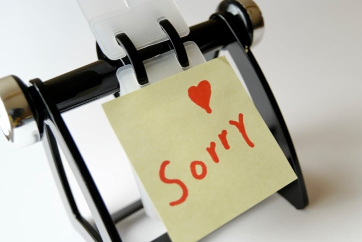 """Kids Don't Have to Say """"Sorry"""""""