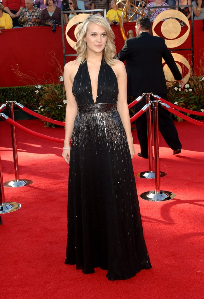 Carrie Underwood sparkled on the red carpet in 2005.