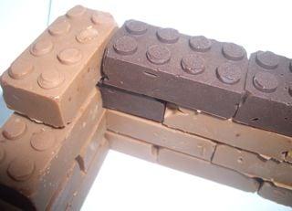 Yummy Link: Chocolate Legos