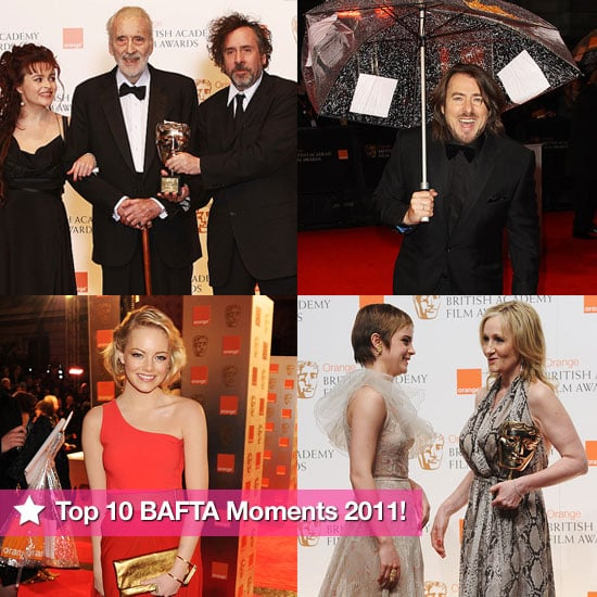 Slideshow of Pictures of BAFTA Awards 2011 — Our Top Moments From The Ceremony with Emma Watson, Rosamund Pike, Dominic Cooper