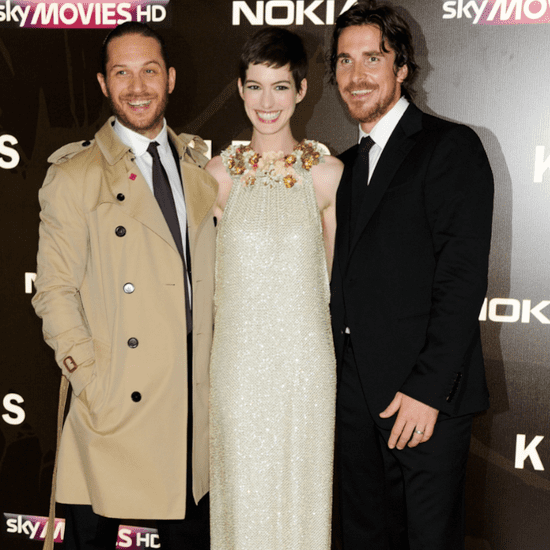 Dark Knight Rises London Premiere Pictures