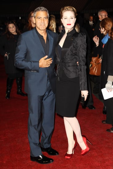 George Clooney and Evan Rachel Wood premiere The Ides of March in London.