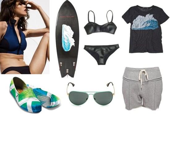 Shopping: Surf Style from Proenza Schouler, Lisa Marie Fernandez, and Alexander Wang