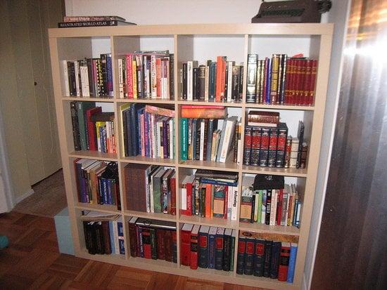Some Weekend Bookshelf Rearrangements