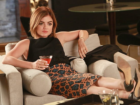 Pretty Little Liars Star Lucy Hale Reveals the Style Secrets Behind Aria's Look