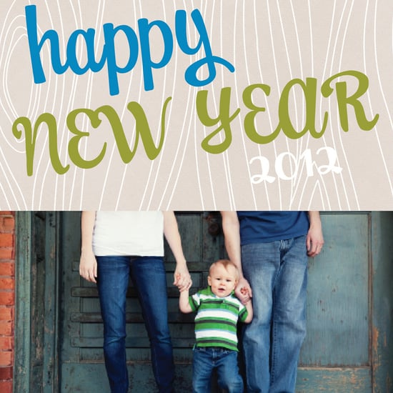 Photo New Year's Cards For Kids