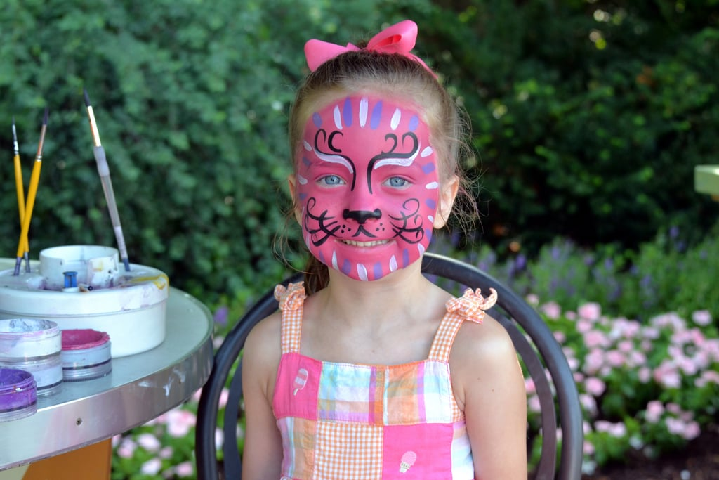 She Loves a Good Face Painting
