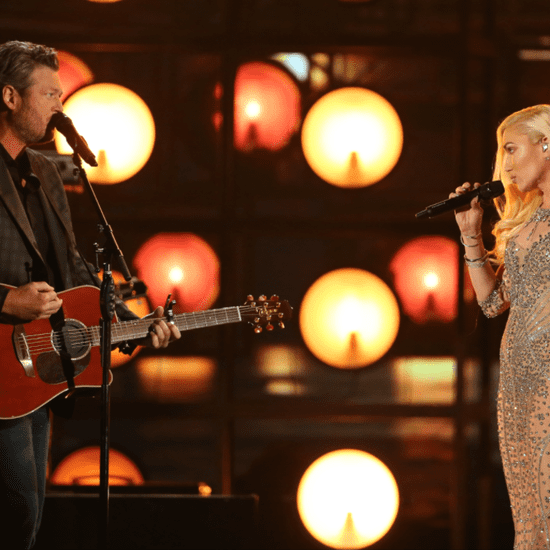 Gwen Stefani and Blake Shelton Eye Contact While Singing