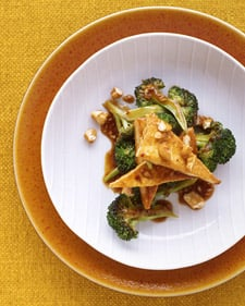 Fast & Easy Dinner: Tofu and Broccoli Stir-Fry