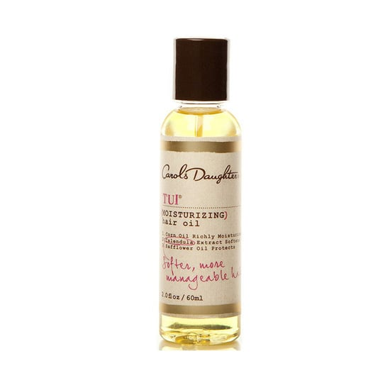 Curly-haired girls know how much extra hydration their hair needs. Nourish your spirals with Carol's Daughter Tui Moisturizing Hair Oil ($10) as a preshampoo treatment, a hot oil treatment, or even a styling aid.