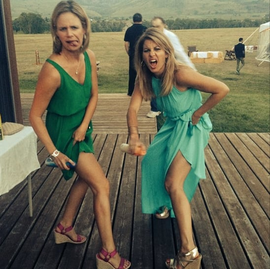 """Candace: """"Happy Birthday to my partner in crime for 28 years! Love you! @andreabarber"""""""