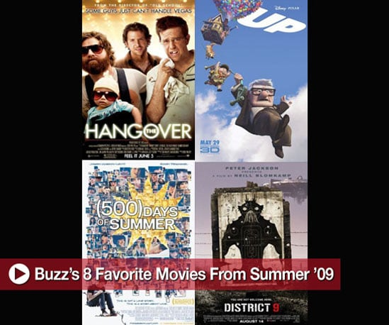 Buzz's 8 Favorite Movies From Summer '09