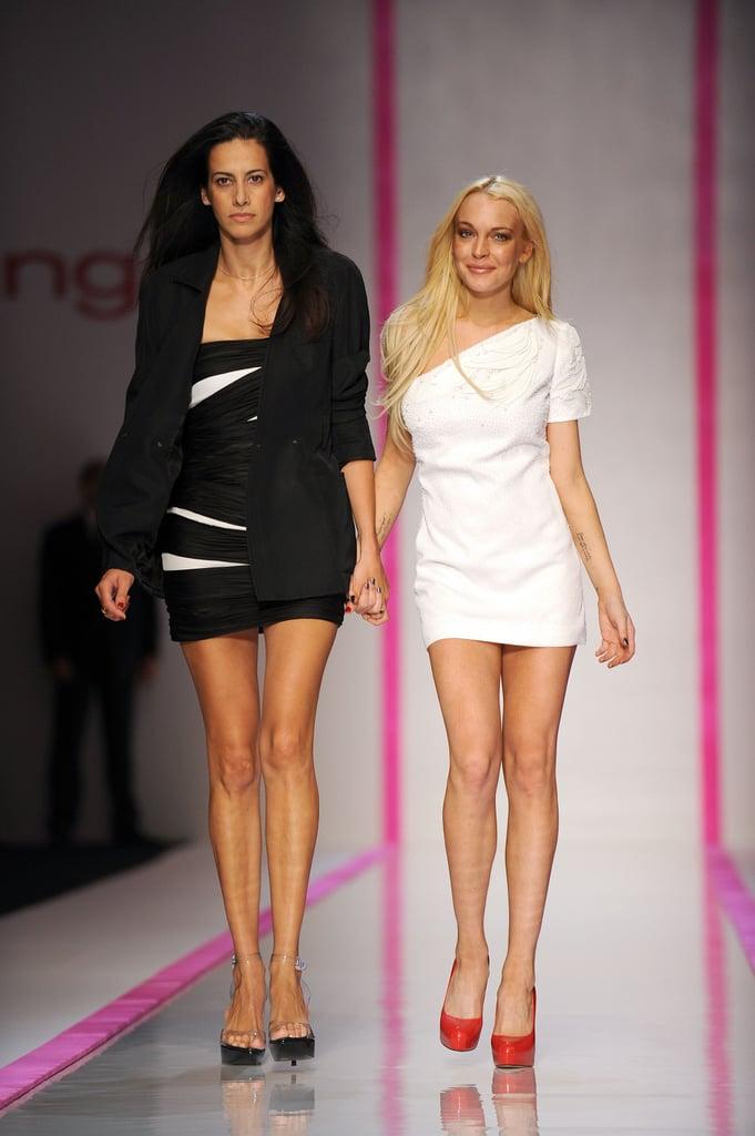 Lindsay Lohan For Emmanuel Ungaro