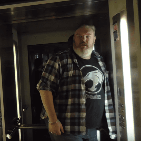 Hodor Actor Holds the Elevator Door