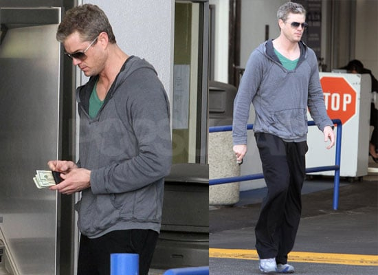 Photos of New Dad And Grey's Anatomy Star Eric Dane at an ATM in LA