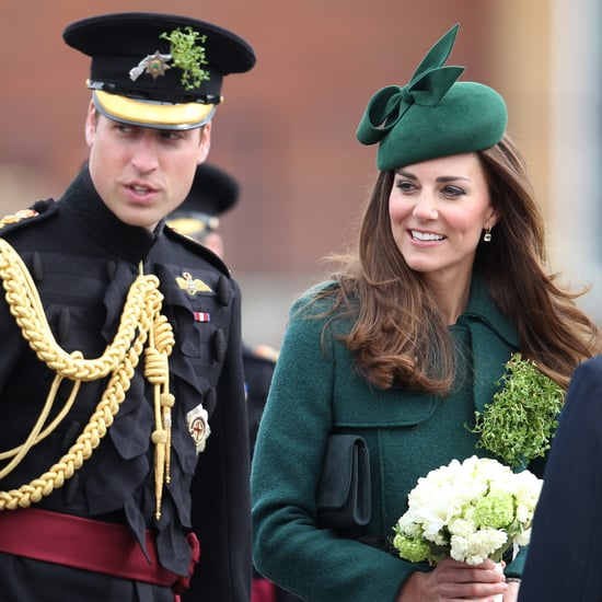 Kate Middleton and Prince William on St. Patrick's Day 2014