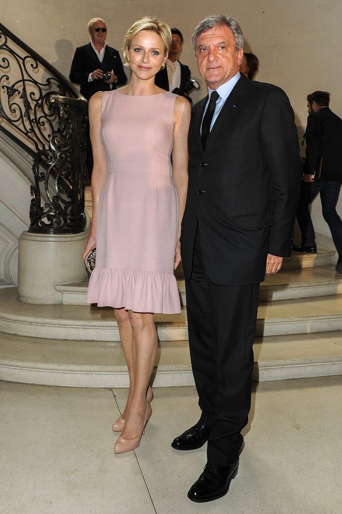 Princess Charlene and Sidney Toledano