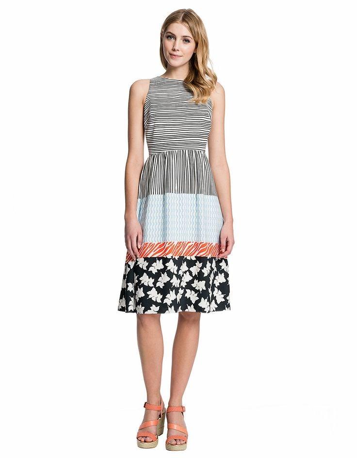 Cece by Cynthia Steffe Mixed Print Dress ($158)