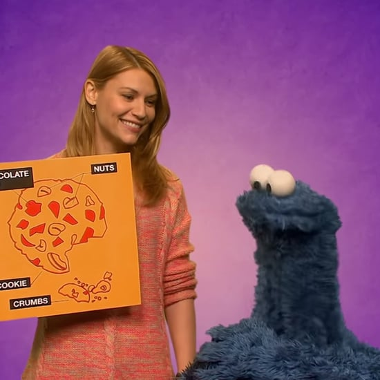Claire Danes on Sesame Street