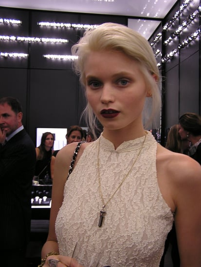Abbey Lee Kershaw Has Dyed Her Hair Platinum Blonde