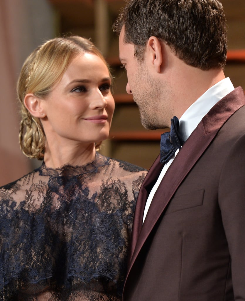 Diane Kruger's Braided 'Do From the Right