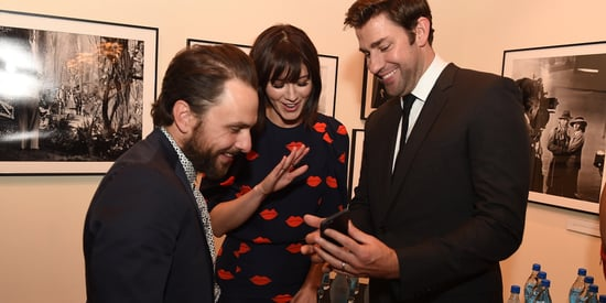 John Krasinski Shows Photos Of His Newborn At A Movie Premiere