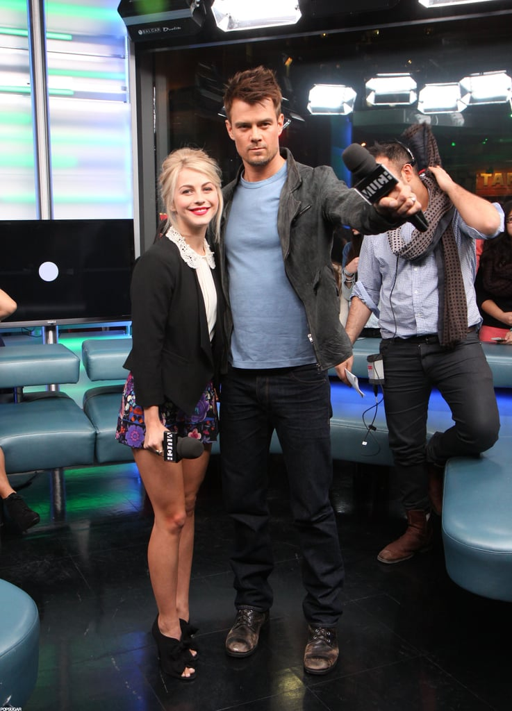 Julianne Hough and Josh Duhamel entertained the audience at the show.