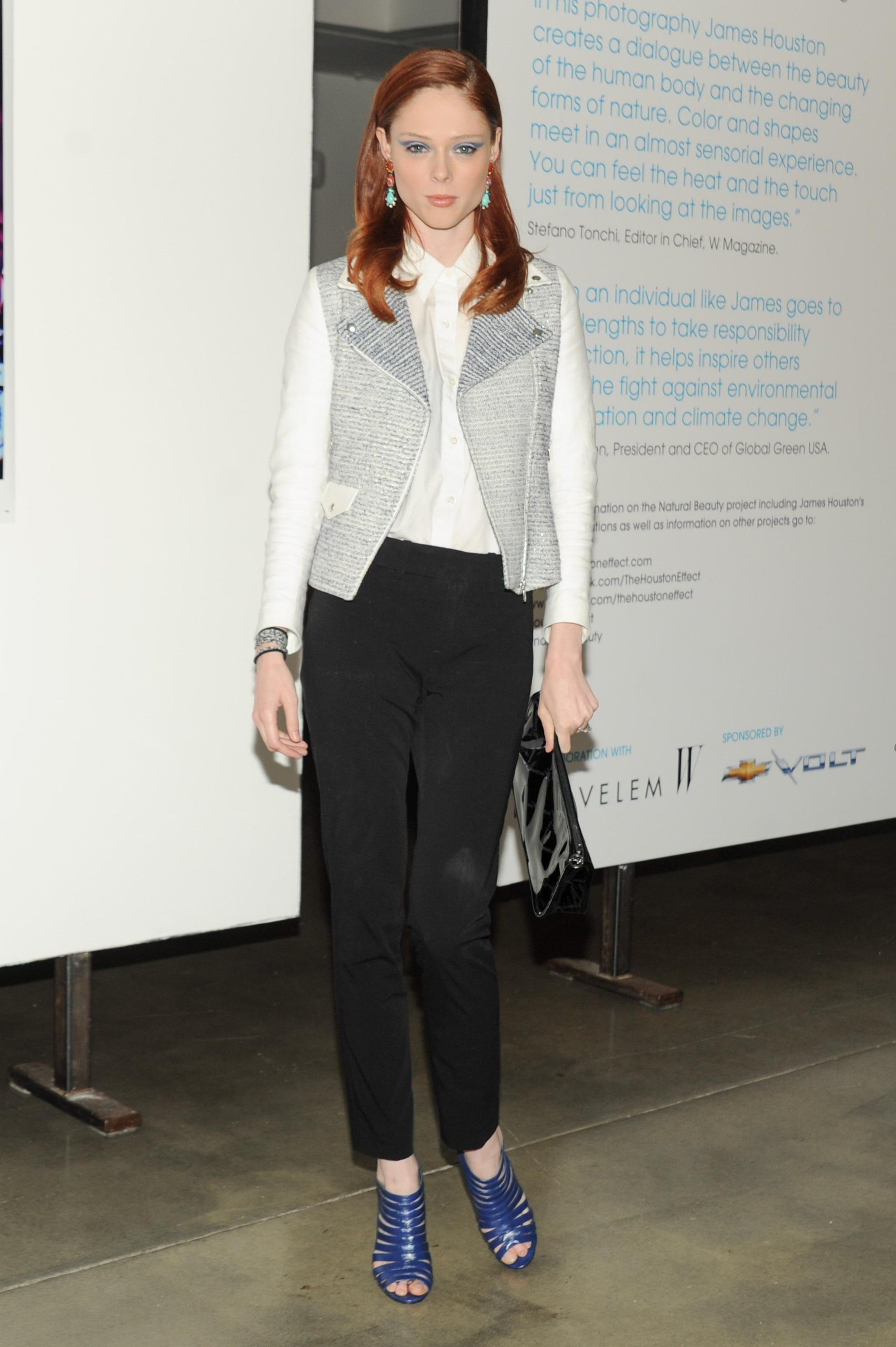 Coco Rocha at the Natural Beauty book launch in New York. Source: Neil Rasmus/BFAnyc.com