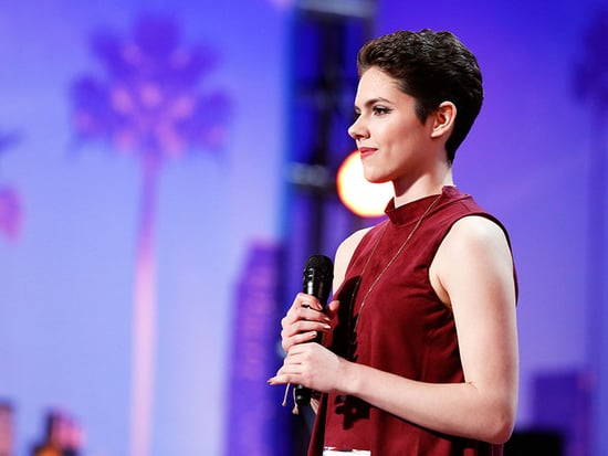 WATCH: 16-Year-Old Cancer Survivor Calysta Bevier Earns Simon Cowell's Golden Buzzer with Her Powerful AGT Performance