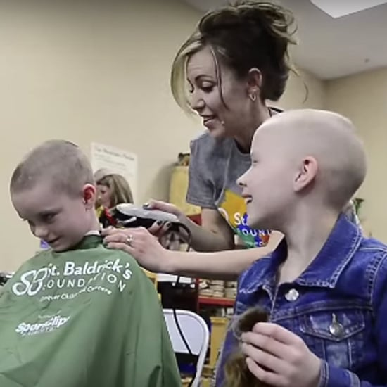 Students Shave Heads For Classmate With Cancer