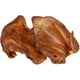 Pups who like to run with the pigskin will love to chomp on all-natural pig ears.