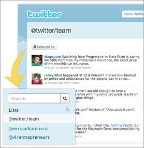 Twitter List Feature Coming Soon