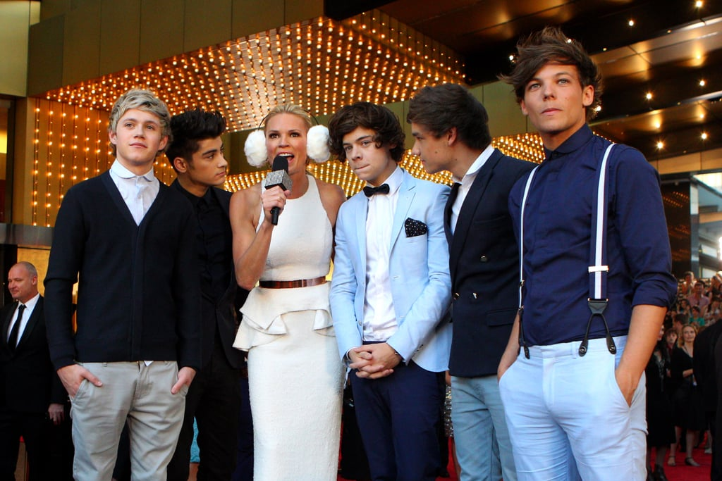 One Direction and Sonia Kruger