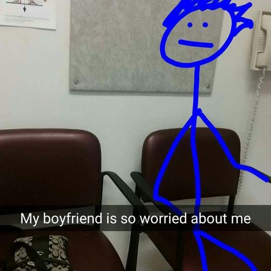 Funny Hospital Snapchat Story on Imgur