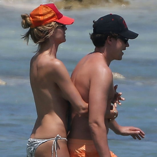 Heidi Klum Topless on the Beach | Pictures
