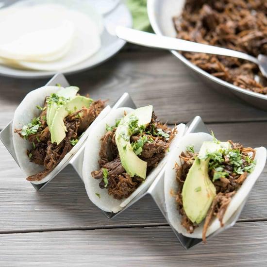 Healthy Paleo Barbacoa Tacos With Jicama Tortillas