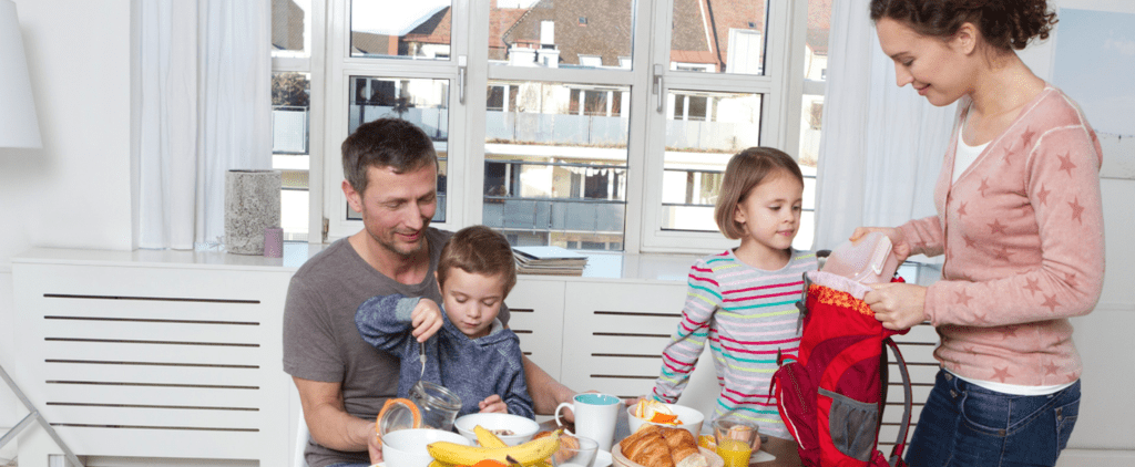 Establish a Morning Routine to Get Kids Out the Door on Time