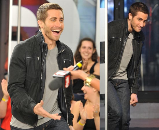 Pictures of Jake Gyllenhaal at ETalk in Canada Promoting Prince of Persia