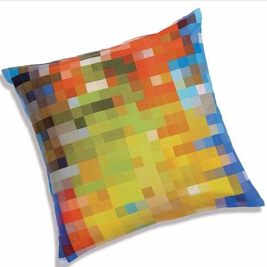CB2 Pixel Pillow